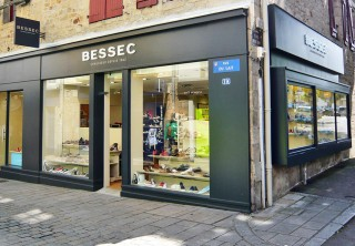 BESSEC CHAUSSEUR, AURAY - design Agence Arno Gambier